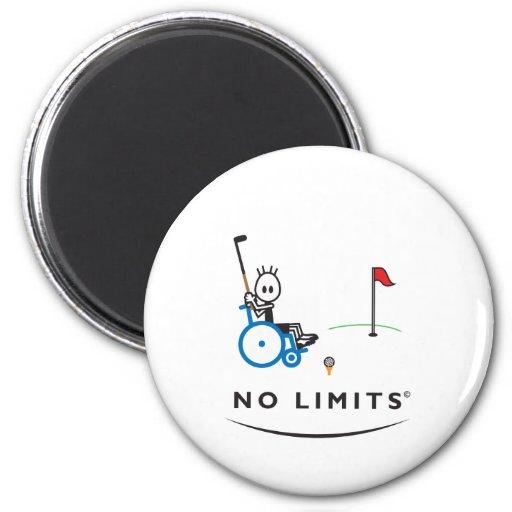 Muchacho especial del golf imanes para frigoríficos