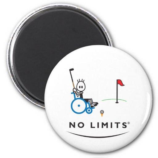 Muchacho especial del golf imán