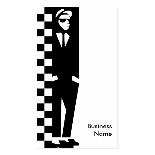 muchacho grosero: ska tarjeta de negocio