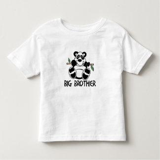 Muchacho hermano mayor de la panda playera de bebé