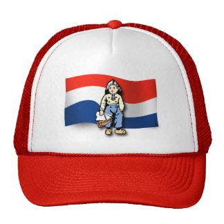 Muchacho holandés gorros