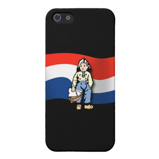 Muchacho holandés iPhone 5 fundas