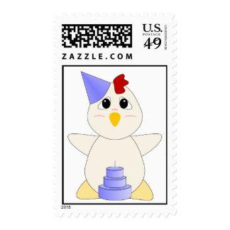 Muchacho Huggable del cumpleaños del pollo Envio