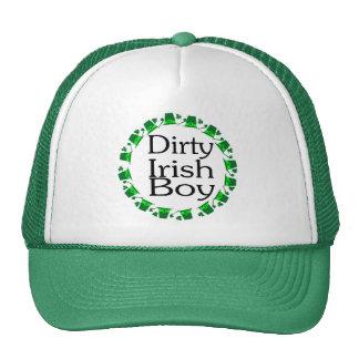 Muchacho irlandés sucio gorros