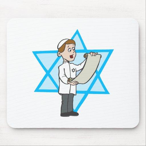 Muchacho judío alfombrilla de raton