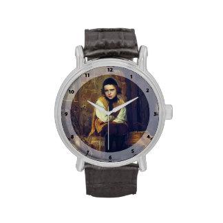 Muchacho judío ultrajado Kramskoy- de Ivan Reloj