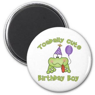Muchacho lindo del cumpleaños de Toadally Imán