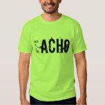 Muchacho, machista, Gacho y Borracho Playera
