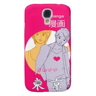 Muchacho Manga Japón Funda Para Galaxy S4