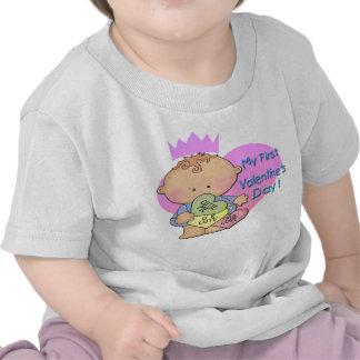 Muchacho mi 1ra camiseta del niño del el día de Sa