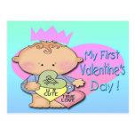 Muchacho mi 1ra postal del el día de San Valentín