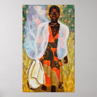muchacho nigeriano póster