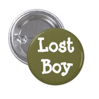 Muchacho perdido pin redondo 2,5 cm