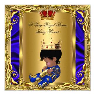 Muchacho rojo real 5 del oro de la fiesta de comunicados personalizados