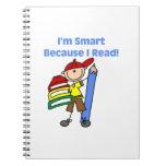 Muchacho Smart porque leí Libros De Apuntes