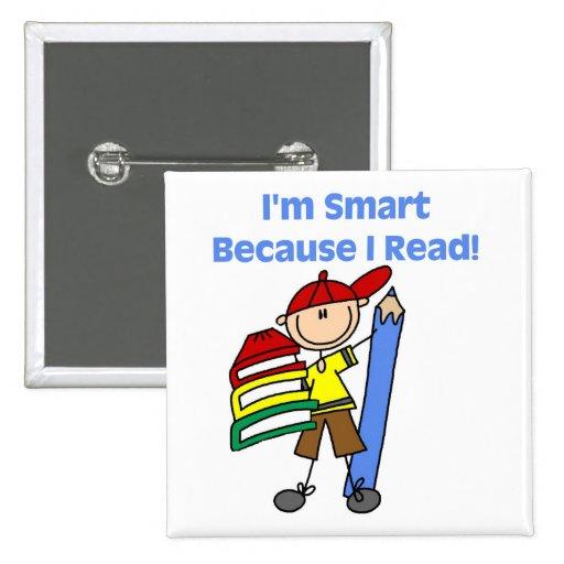 Muchacho Smart porque leí Pin