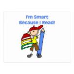 Muchacho Smart porque leí Postales