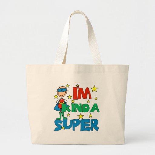 Muchacho soy un poco estupendo bolsas de mano