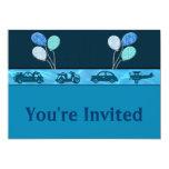 Muchacho total del cumpleaños en la invitación invitación 12,7 x 17,8 cm