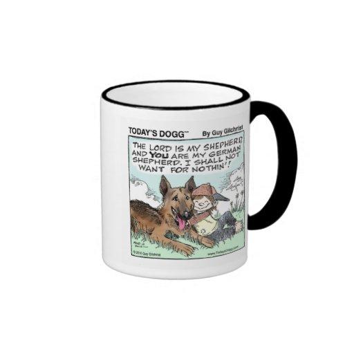 Muchacho y perro de hoy de Dogg™ Tazas