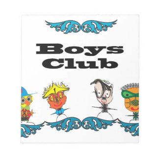 Muchachos Club ai Bloc De Papel