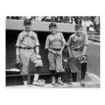 Muchachos de bola de Cleveland, 1922 Tarjeta Postal