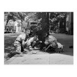 Muchachos de Georgetown, los años 30 Tarjeta Postal