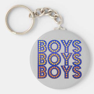 Muchachos de los muchachos de los muchachos llavero redondo tipo pin