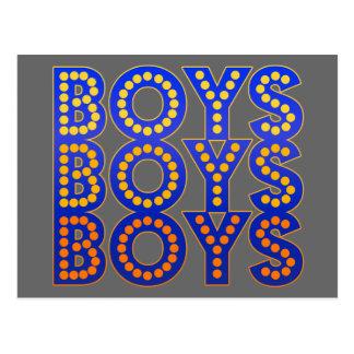 Muchachos de los muchachos de los muchachos postal