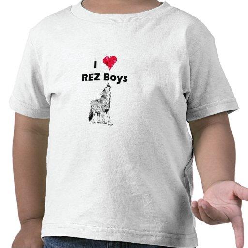 Muchachos de REZ Camiseta
