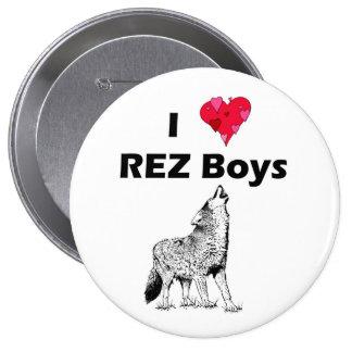 Muchachos de REZ Pin Redondo 10 Cm