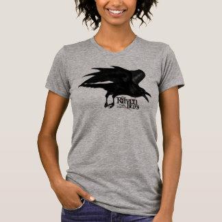 Muchachos del cuervo que vuelan la camisa del cuer