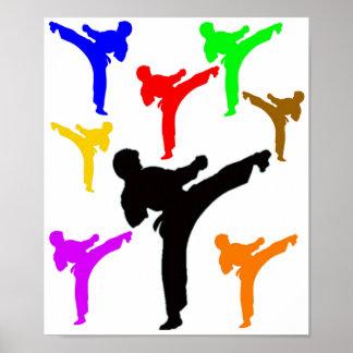 Muchachos del karate posters