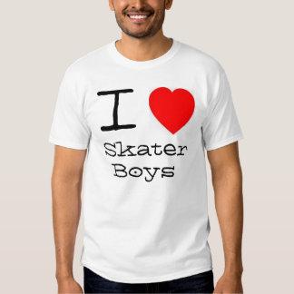 Muchachos del patinador del *heart* I Poleras
