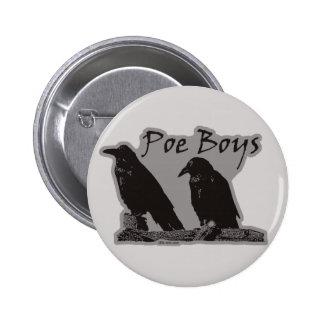 Muchachos del Poe Pin Redondo De 2 Pulgadas