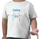 Muchachos gemelos camiseta