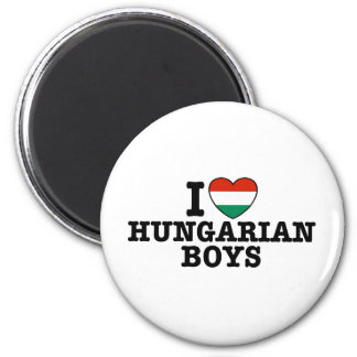 Muchachos húngaros iman para frigorífico