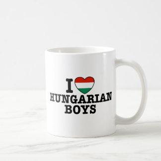 Muchachos húngaros taza