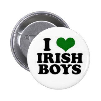 Muchachos irlandeses - botón pin redondo de 2 pulgadas