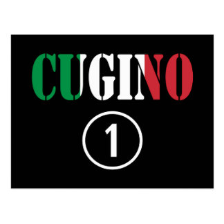 Muchachos italianos de los primos: Uno de Cugino Postal