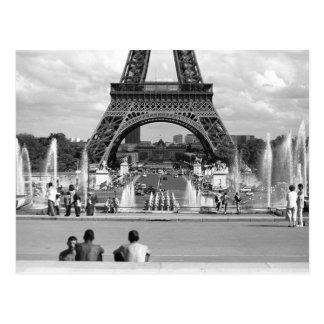 Muchachos parisienses Postcared Postales