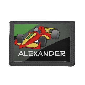 Muchachos personalizados del coche de carreras