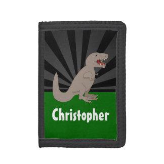 Muchachos personalizados del dinosaurio de T-Rex