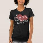 Muchachos tatuados sucios (oscuros) camiseta