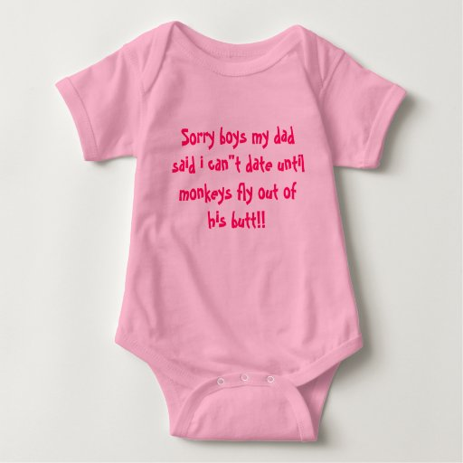 """Muchachos tristes que mi papá dijo que puedo """" body para bebé"""