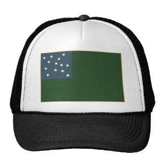 Muchachos verdes de la montaña y la bandera de la gorros bordados