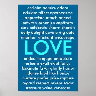 Muchas maneras de amar póster