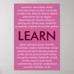 Muchas maneras de aprender poster