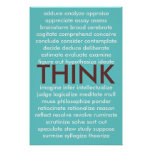 Muchas maneras de pensar poster