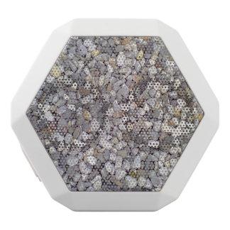 Muchas pequeñas piedras altavoces bluetooth blancos boombot REX